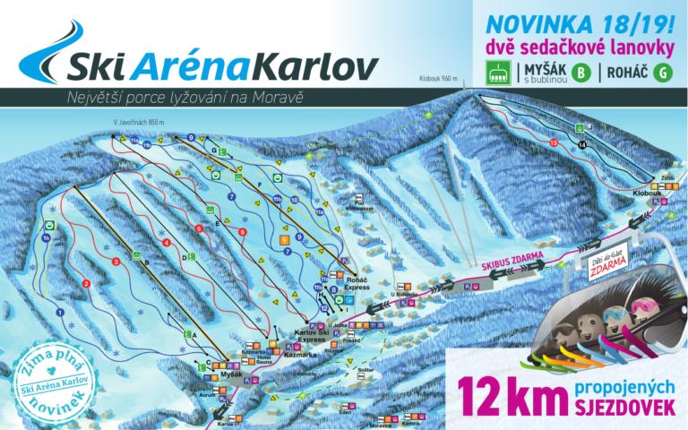 Ski areál Karlov