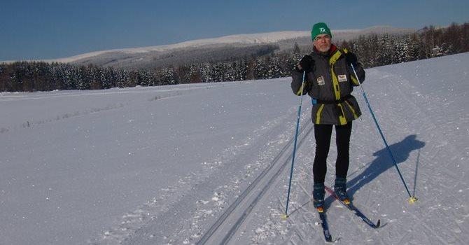 Běžecké trasy Nová Ves