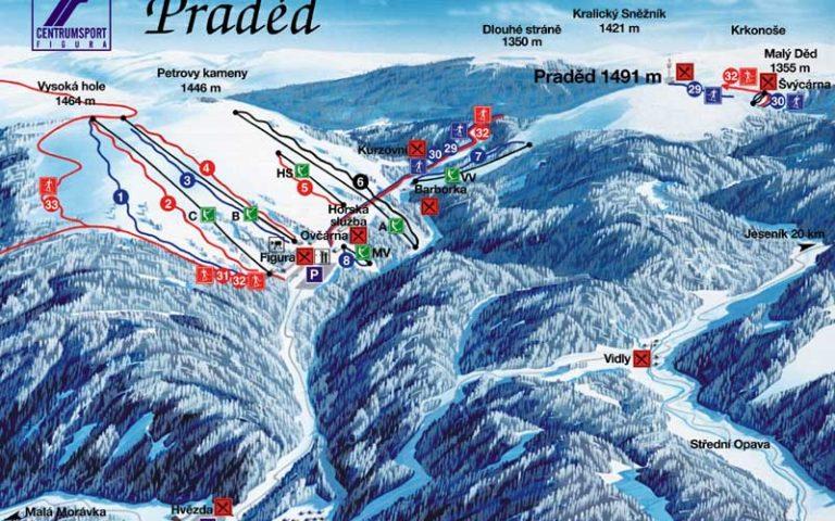 Ski areál Praděd – Ovčárna